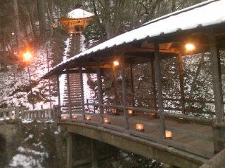 神秘的な景観。ザ・観光地ではなく、まさしく秘湯☆斎藤ホテルの皆様、ありがとうございました!