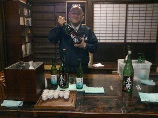 純瓶師匠の「春鹿寄席」に出させていただきました!奈良町は風情たっぷりです。蔵元のお酒が美味!