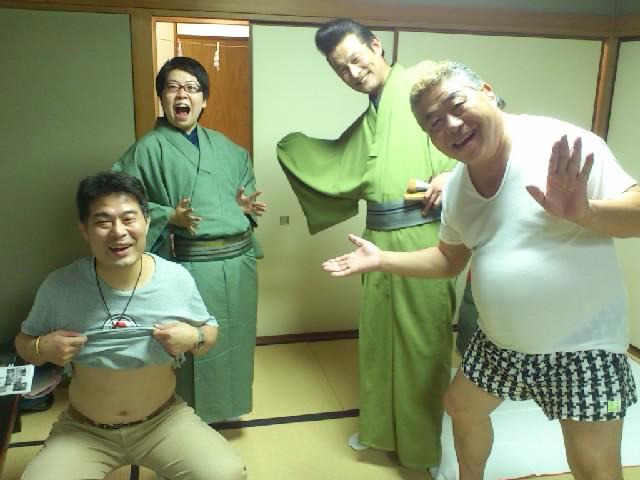 第二区!左から文福師、のんき師、眞ちゃん、文鹿師!楽しいメンバーです〜筠