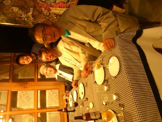 神戸にてレストランモーヴの落語会。元灘校教諭の橋本先生(100歳!)も来ていただきました!
