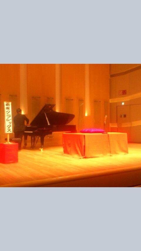 寄席クラシックス第一回、無事に盛会に終わりました!ありがとうございました!ピアノと高座☆