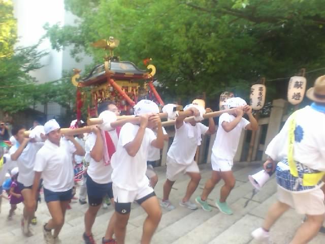 高津宮は夏祭