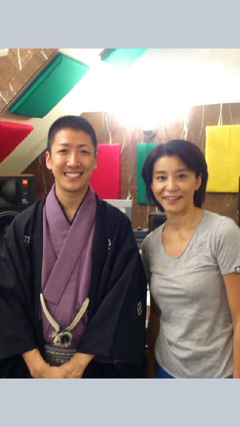 バイオリニスト高嶋ちさ子さんのラジオ番組に呼んでいただきました!楽しかったです〜!