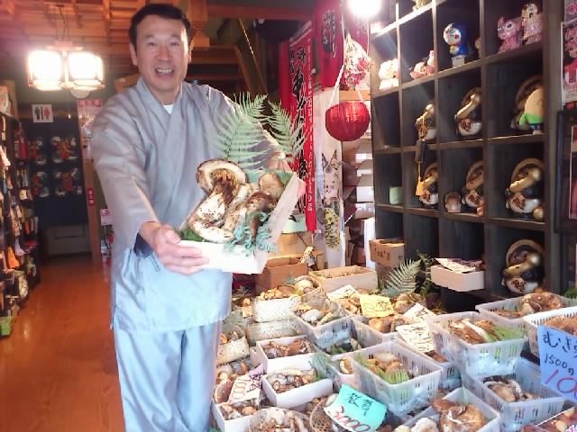 先日行った信楽「魚松」さん。松茸と近江牛のあばれ食い!めちゃ美味しかったです〜☆