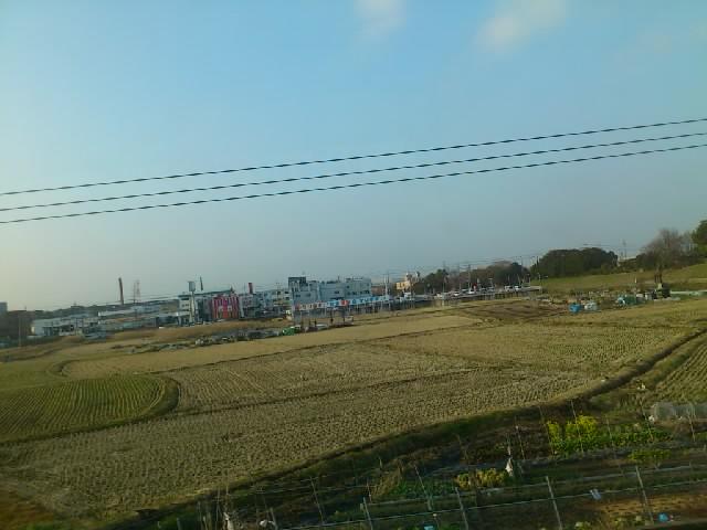 !!。。野崎から逆方向に電車に乗ったことに今気付きました。。。写真は「交野の車窓から」