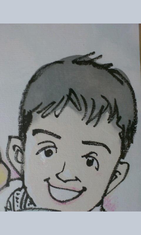 彦八まつり終了!ご来場の皆様ありがとうございました☆いわみせいじ先生に似顔絵を描いていただきました!