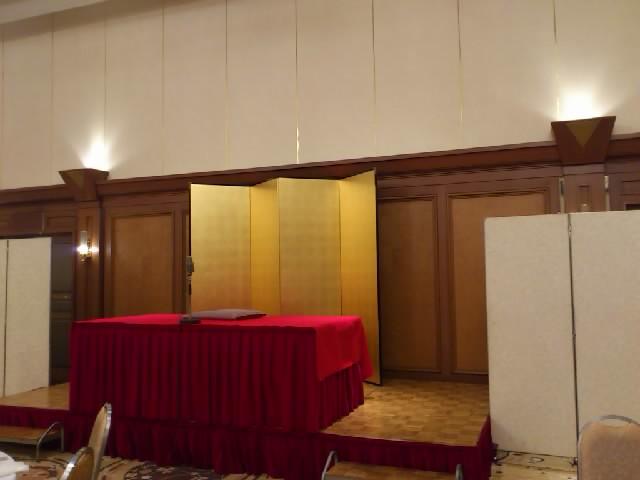 小林一三翁が創ったという歴史ある(70年以上!)「武庫川倶楽部」で口演させていただく。宝塚ホテルにて。