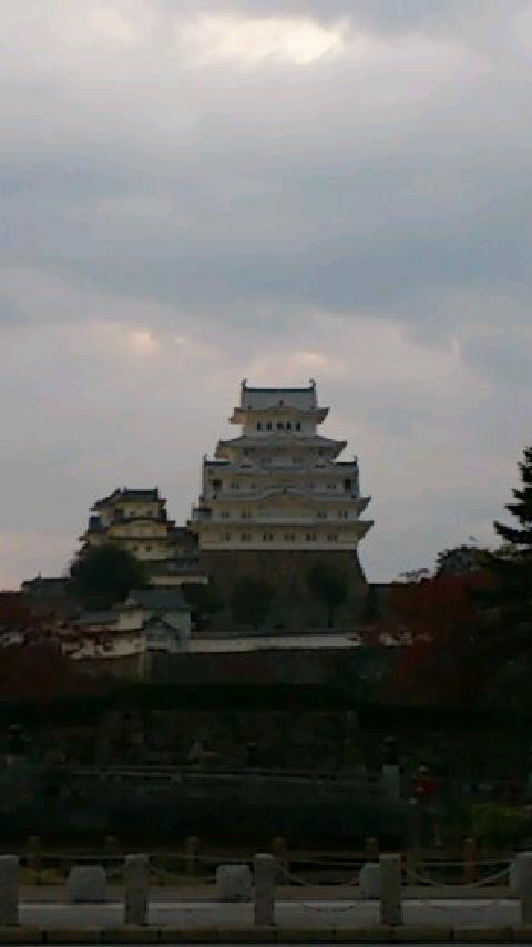 姫路別院にて小春団治師匠の会。姫路城が新しくなってました。お堀前広場は黒田官兵衛ガッツリ押し!でした